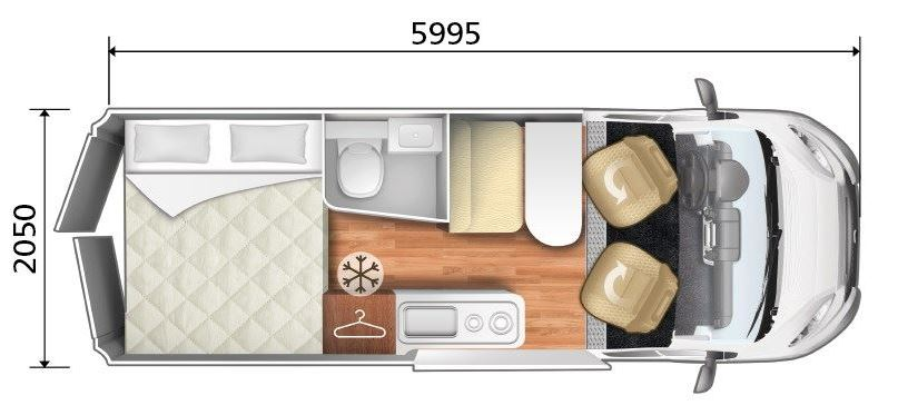 Noleggio camper LIVINGSTONE